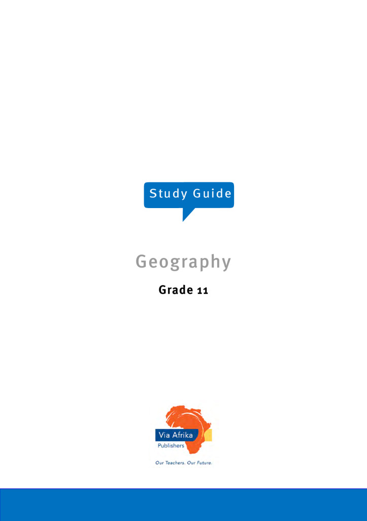 Geography exam papers and study material for grade 11